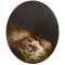 Nicolas Edward GABÉ (1814-1865) La courtisane amoureuse-HST-Signé - 61 x 50 cm - 1550 €