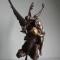 Antonin MERCIÉ (Toulouse 1845 - Paris 1916) Gloria Victis Bronze à patine brune et dorée - Signé - Fondeur F.Barbedienne et cachet de reproduction Collas - H. 60,8 cm- 4 960 €