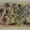 Pierre ALECHINSKY (1927)  - Le dénouement  - Lithographie en couleurs Signé et numéroté 149/300 - 38 x 51 cm - 434 €